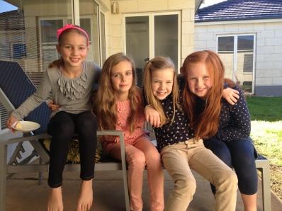 Anna, Pippa, Phoebe & Laura