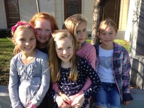Anna, Laura, Phoebe, Pippa, Scarlett