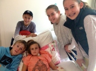 James, Patrick, Pippa, Olivia & Emily