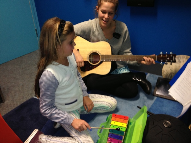 Music Therapy with Elly