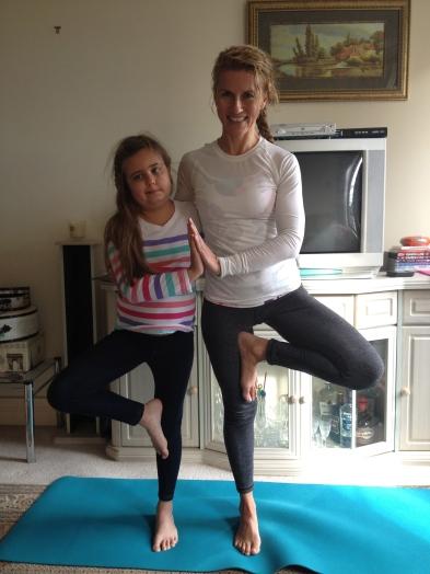 Yoga with Patricia - awseome balance Pippa
