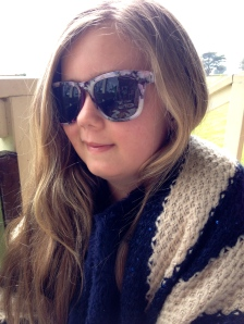 Rugged up like a Movie star in Cold Vic