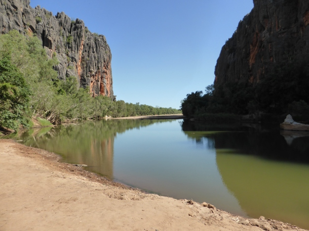 Windjana Gorge in the Kimberley's