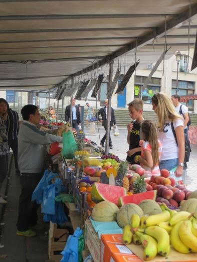 Fresh Fruit Shopping