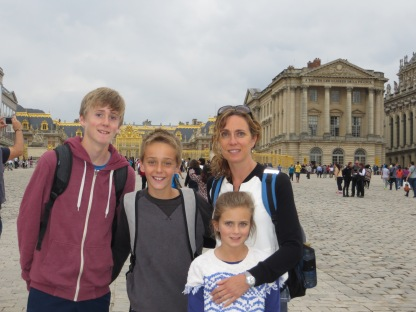 Outside Versailles