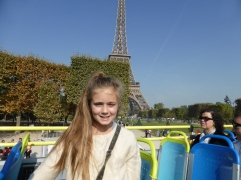 Happy to see the Eiffel Tower