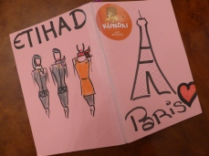Bon Voyage from Etihad
