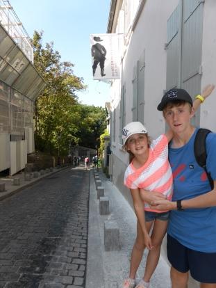 Street wandering in Montmatre