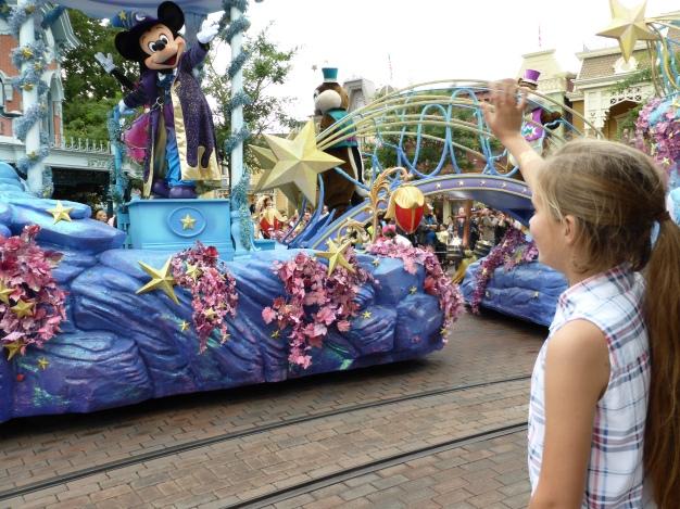 Mickey saw Pippa on Parade!