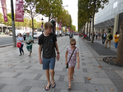 Strolling Champs Elysees