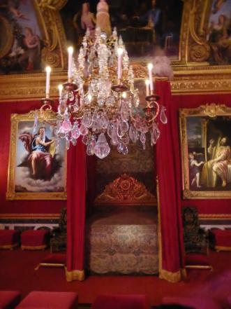 King Louis XIV's ceremonious bedroom