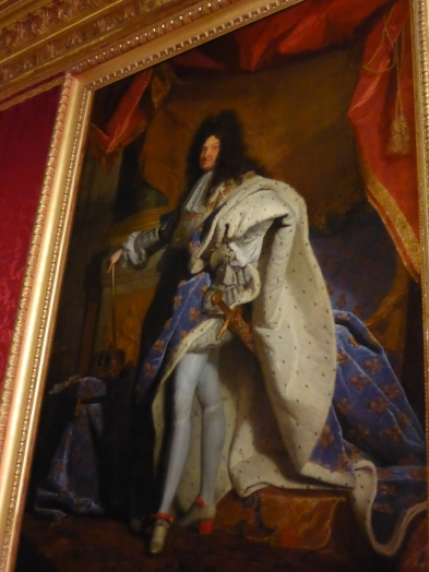 Louis XIV with his gorgeous dancing legs