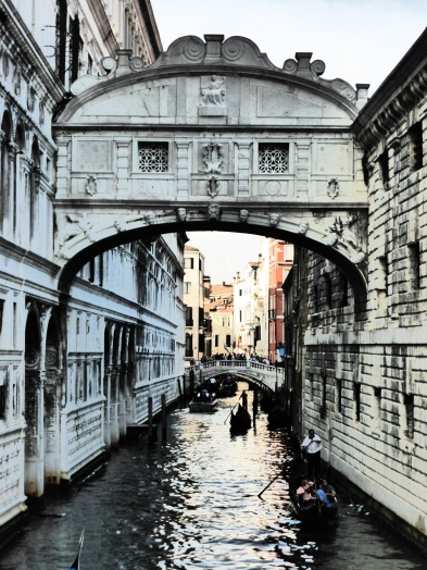 Patrick's artistic photo of The Bridge of Sighs