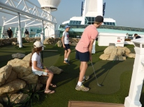 Mini Golf on Board