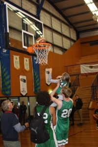 Slam Dunk....with a bit of help