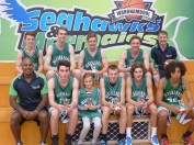 The u18s Boys Seahawks Team