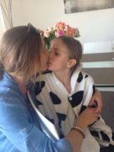 Kisses with Melanie
